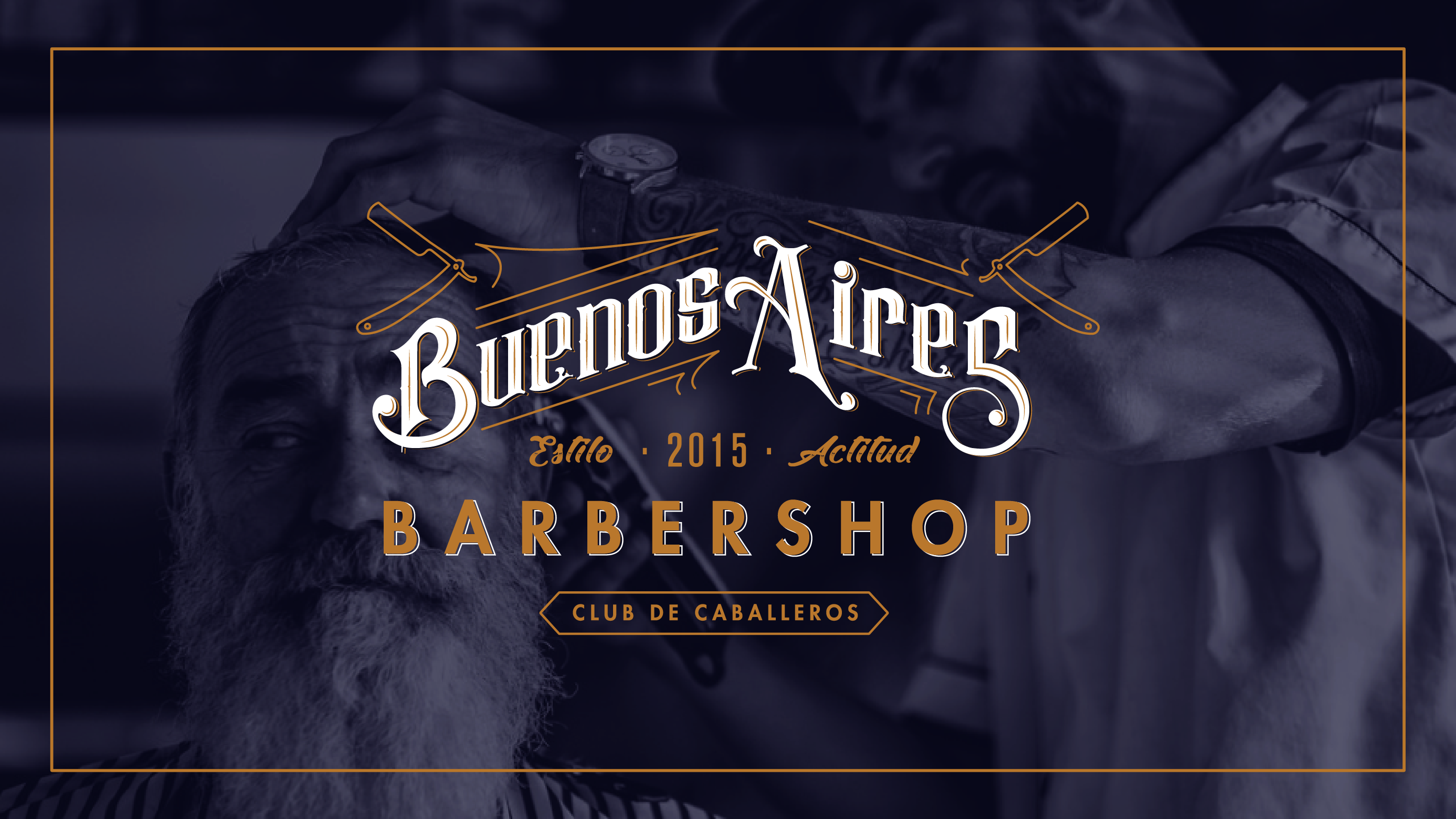 Buenos Aires Barbershop New Logo
